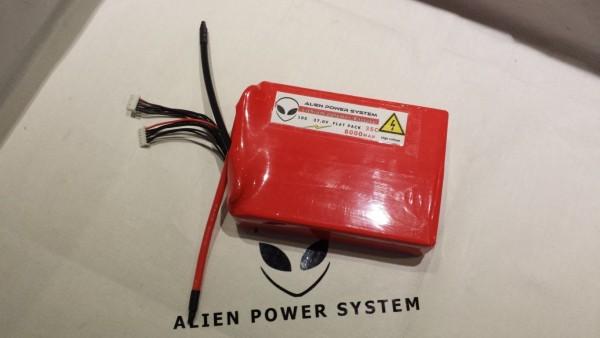 APS 10S 8000mAh 35C LiPo battery - Flat construction