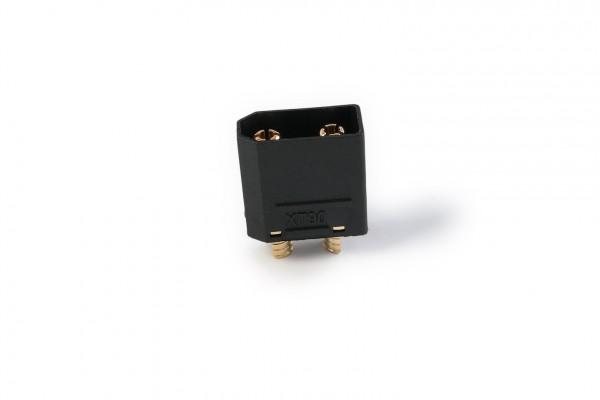 XT-60 Nylon high current plug gold plated black