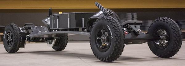 Electric Mountainboard Spur Gear Drive Twin Motor