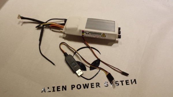 APS 200A 3-16S Evolution 3 HV Sensor ESC