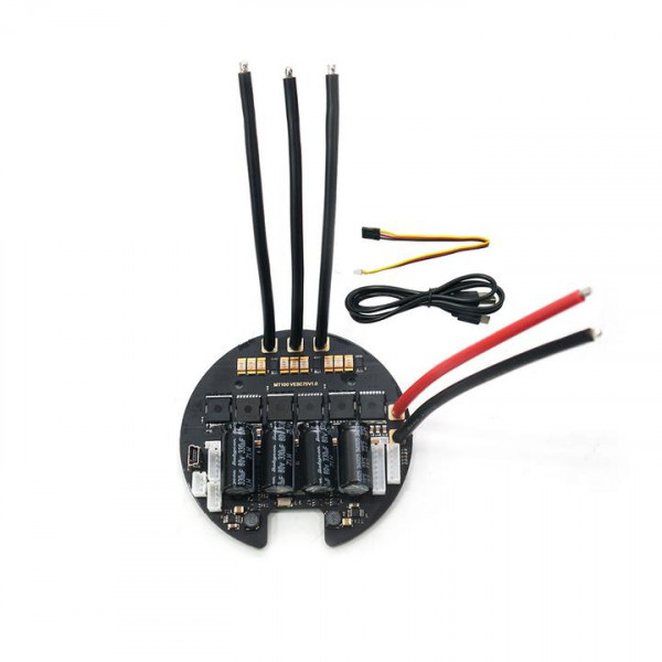 Maytech MTVESC7.5R runder Speed Controller based on VESC6