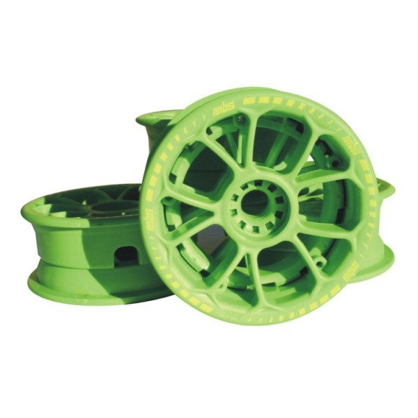 MBS Twistar Hub Set - Green