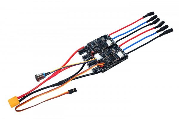 Dual BLDC FOC ESC MTDU30A