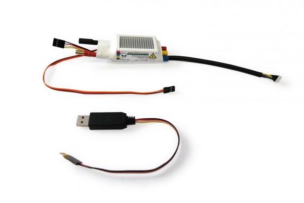 APS 120A 2-7S Mini ESC BEC Sensored