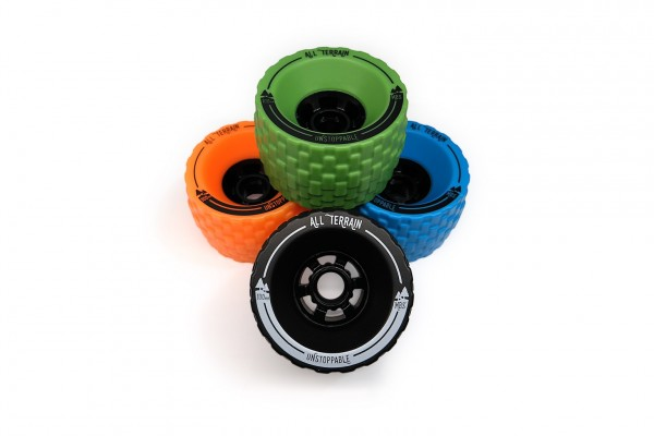 MBS All-Terrain Longboard Wheel Set
