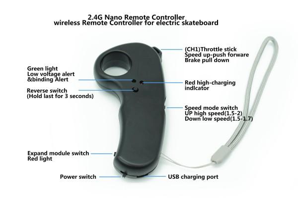 FLIPSKY 2.4G Nano Remote Controller