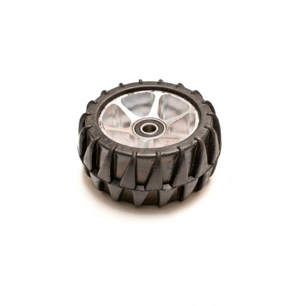 Rubber Wheel with Aluminium Rim - Evo Street and Underground