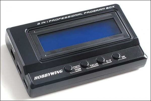 Hobbywing multipurpose LCD Programm Box