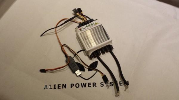 APS 120A 2-7S Evo 3 BEC Twin ESC Sensored