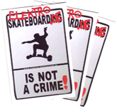 Sticker: not a crime ATB