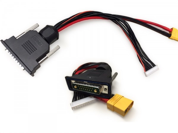 Combi charging cable - current balancer
