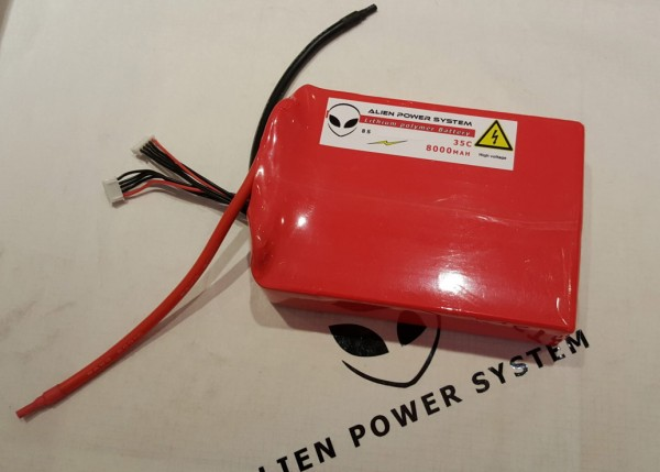 APS 6S 8000mAh 35C LiPo Battery