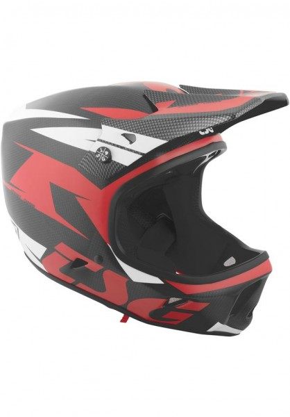 TSG Fullface Helmet Advance Carbon
