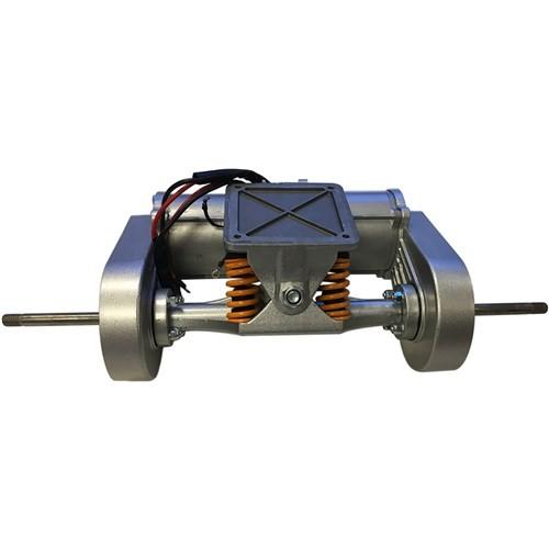 Skatey 800 double motor axle - complete
